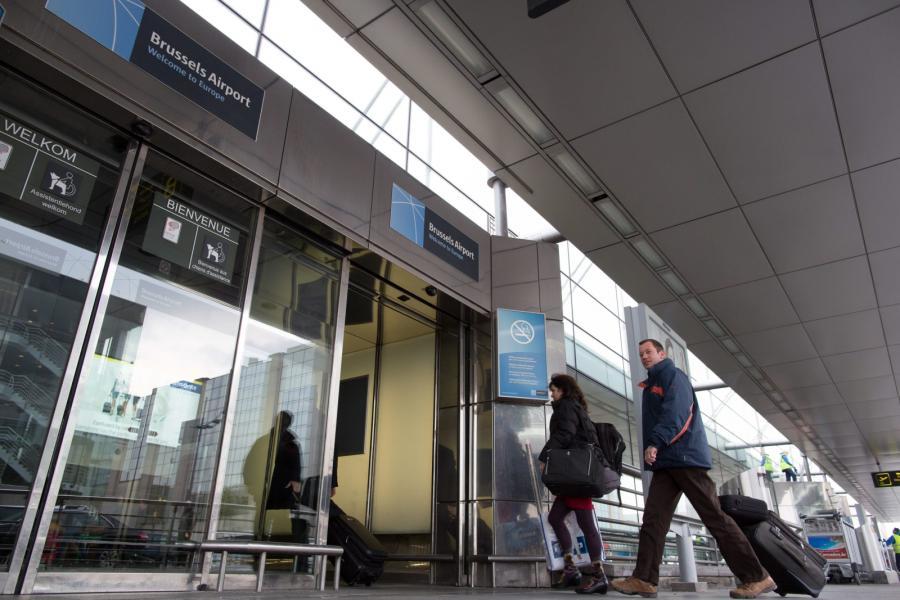 Bruksela bomby na lotnisku