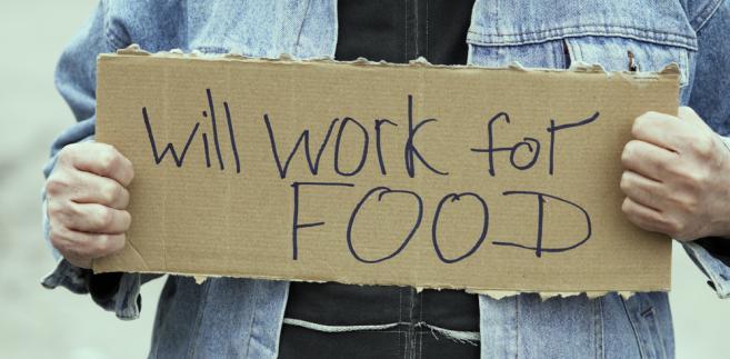 pracujący biedni bieda ubóstwo
