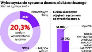 Wykorzystanie systemu dozoru elektronicznego
