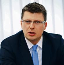 Dr Marcin Warchoł wiceminister sprawiedliwości