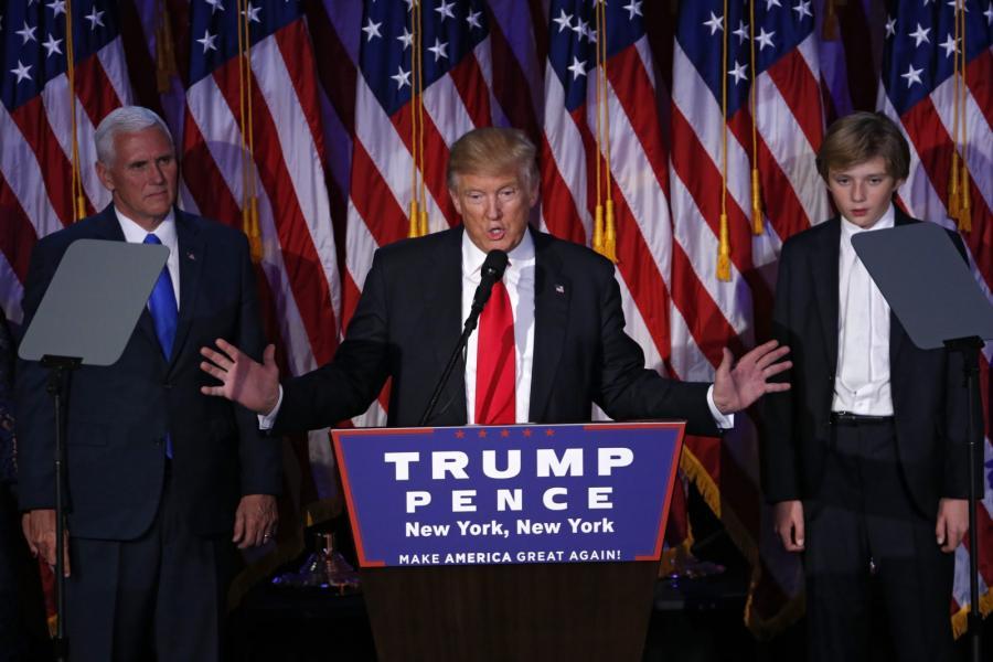 Donald Trump dziękuje wyborcom