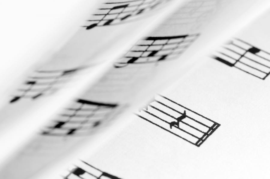 partytura, muzyka