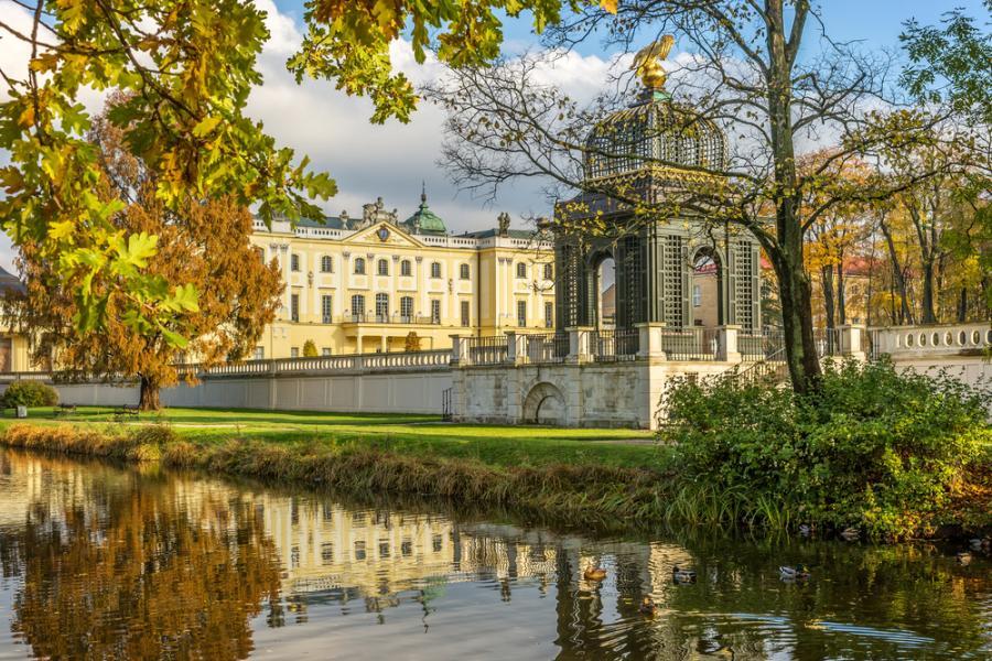 Ogrody wokół Pałacu Branickich w Białymstoku