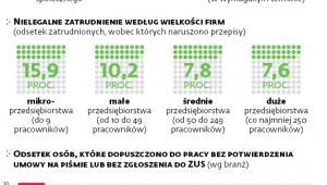 Nielegalna praca w Polsce w 2016 r.