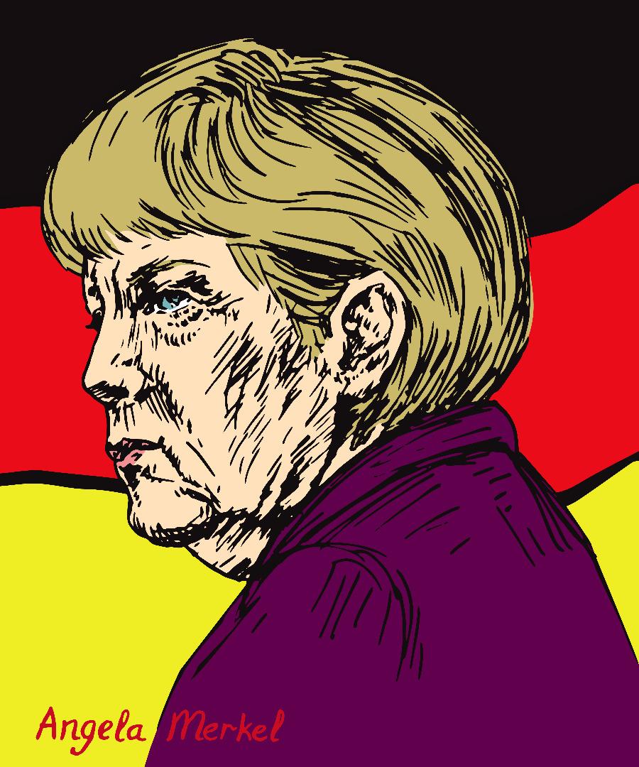 Angela Merkel P.S.Art-Design-Studio  Shutterstock.com