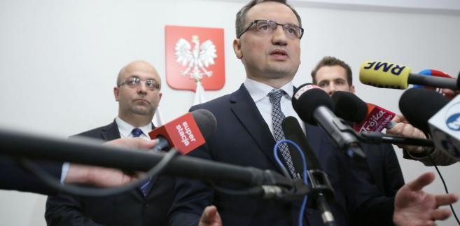 Minister sprawiedliwości, prokurator generalny Zbigniew Ziobro