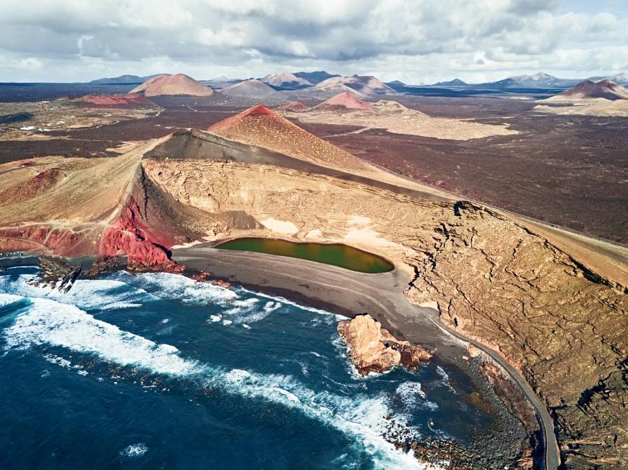 El Golfo, Lanzarote (Wyspy Kanaryjskie)