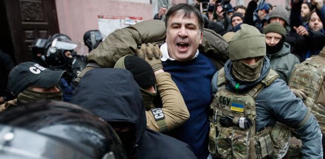 Saakaszwili na kijowskim dachu to z jednej strony skrót jego obecnej politycznej kondycji.