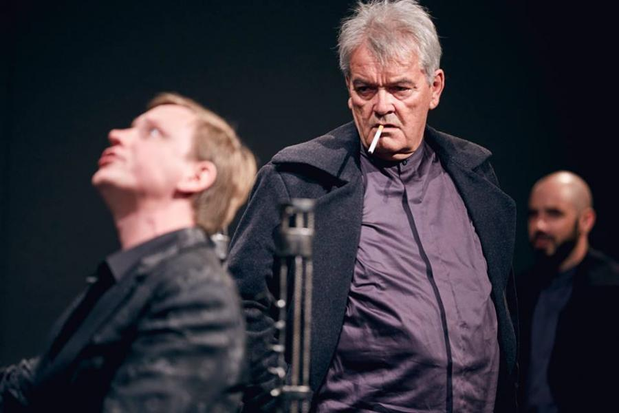 Hamlet-komentarz Bogdan Koca Teatr Pieśń Kozła Fot. Mateusz Bral