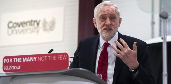 Jeremy Corbyn, przewodniczący Partii Pracy