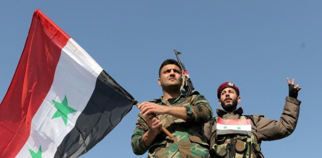 """Rudskoj powiedział także, że """"według wstępnych danych nie ma ofiar (zachodnich bombardowań) wśród żołnierzy syryjskiej armii rządowej i wśród cywilów""""."""