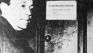 Zdjęcie z akt sądowych: wizja lokalna w domu dr Kamińskiej