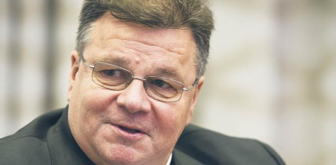 Linas Linkevičius, minister spraw zagranicznych Litwy, były minister obrony narodowej fot. Wojtek Górski