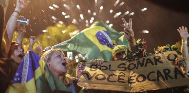 Jair Bolsonaro zwycięża w w wyborach