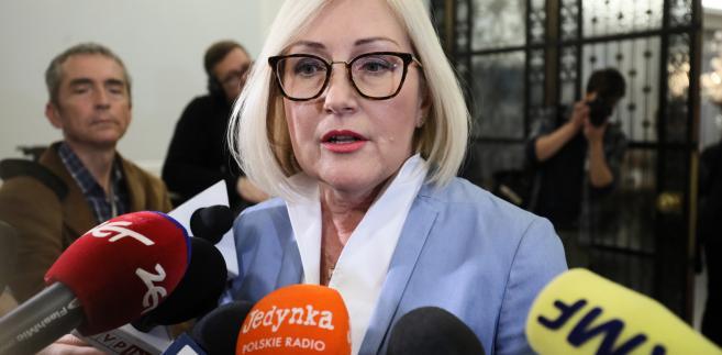 Kopcińska była pytana o negocjacje pomiędzy rządem a organizatorami Marszu Niepodległości ws. marszu 11 listopada.