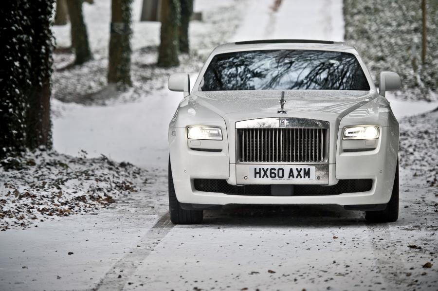 Rolls-Royce Ghost Fot. Rolls-Royce