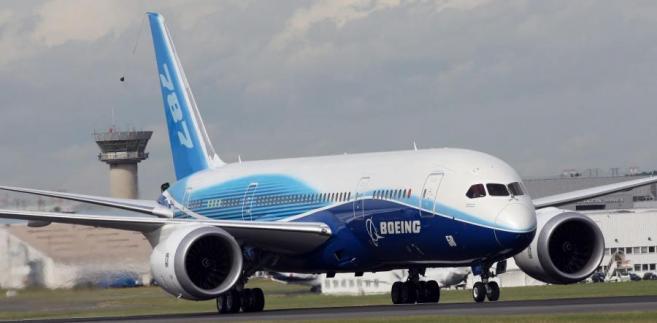 Najnowocześniejszy samolot świata Boeing 787 Dreamliner fot. Chris Ratcliffe/Bloomberg