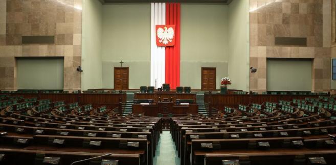 Budynek polskiego Sejmu