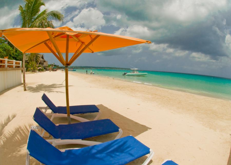 Plaża Negril, Jamajka. Fot.flickr/thepalmsnegril