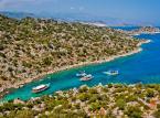 Tureckie wybrzeże Morza Śródziemnego