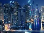 Dubaj. Widok na centrum miasta.