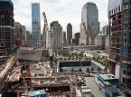 Widok na plac budowy World Trade Center w Nowym Jorku